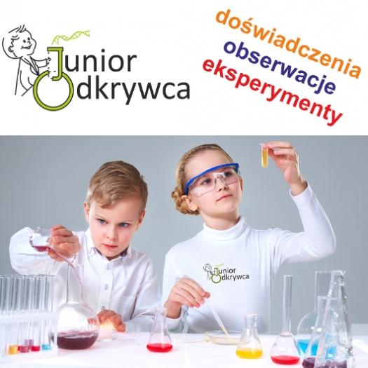Junior Odkrywca- doświadczenia