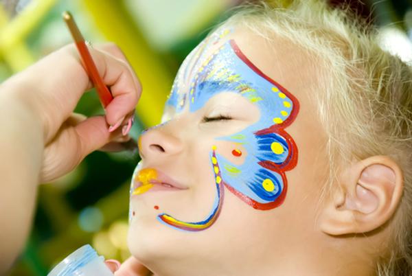 Malowanie twarzy- animatorzy